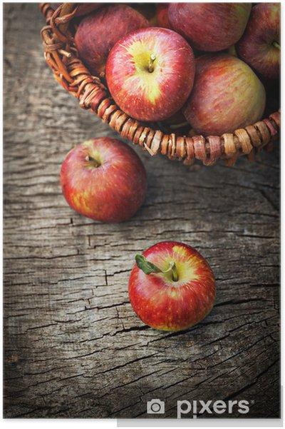 Plakat Świeżo zebrane winogrona - Pory roku