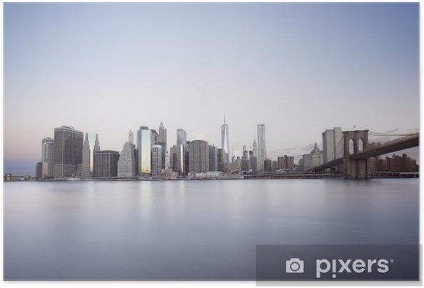 Plakat Świt Nowy Jork - Tematy