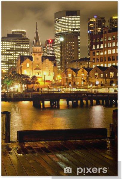 """Plakát Sydney """"The Rocks"""" a Downtown 3 - Témata"""