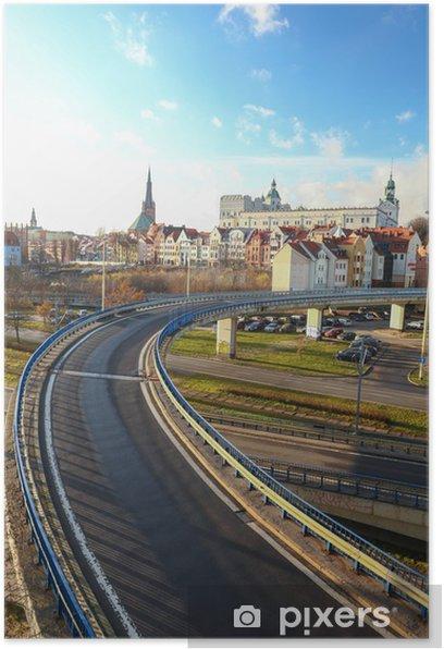 Plakat Szczecin - trasa zamkowa - Tematy