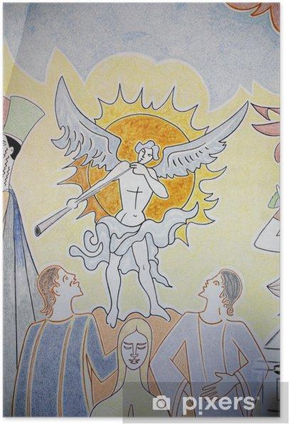 Plakat Szczegóły Notre Dame w Jerozolimie (Fréjus) - Inne uczucia