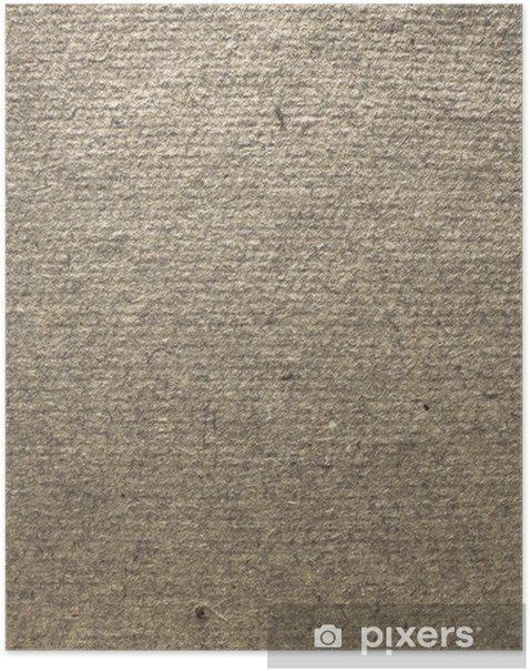 Plakat Szorstka struktura papieru - Tekstury