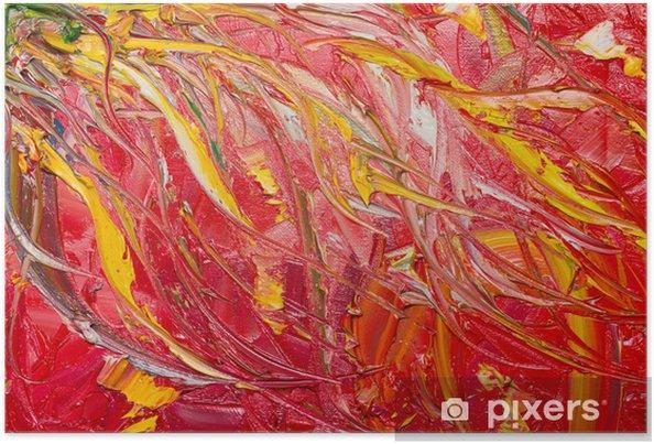 Plakat Sztuka abstrakcyjna - Sztuka i twórczość
