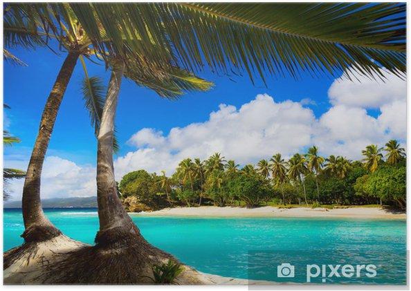 Plakat Sztuka laguny tropikalnego morza karaibów - Przeznaczenia