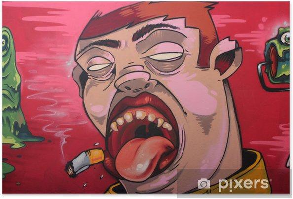 Plakat Tabaco grafitti - Tematy