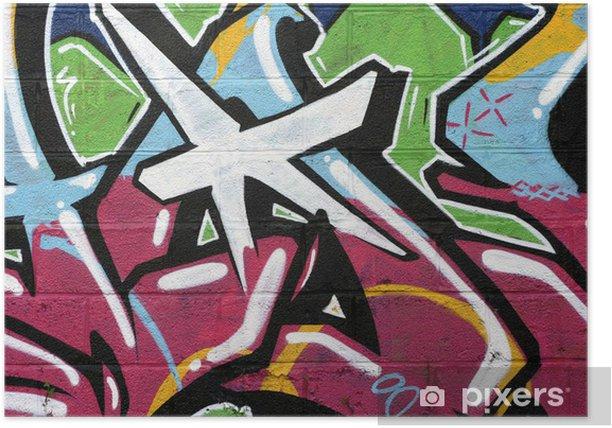 Plakát Tag, graffiti - Témata