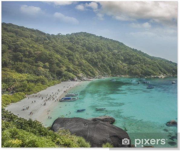 Plakat Tajlandia oceanu - Azja