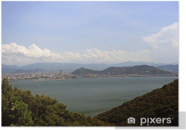 Plakat Takamatsu miasto-2 - Wyspy