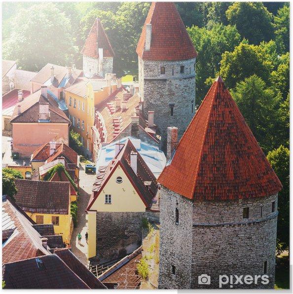 Plakat Tallinn - Europa
