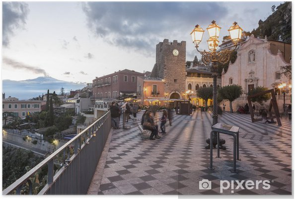 Plakat Taormina i Etna - Europa