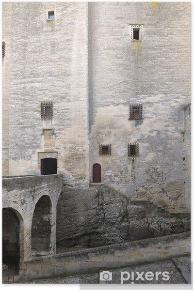 Plakat Tarascon, zamek, król René - Zabytki