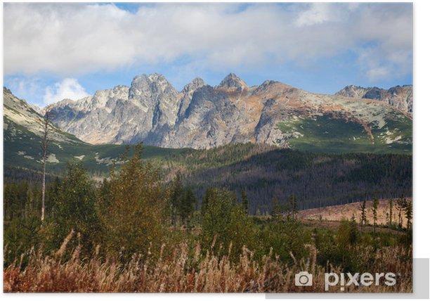 Plakat Tatra Mountain - Tematy
