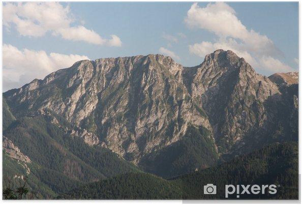 Plakat Tatry Góry