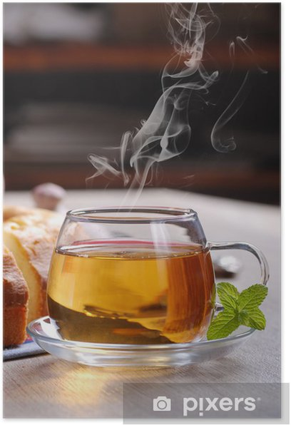 Plakát Tazza di tè Fumante - Horké nápoje