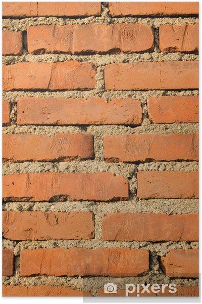 Plakat Tekstury cegły - Przemysł ciężki