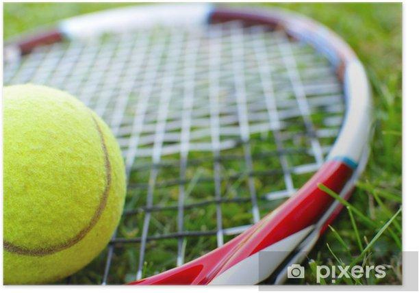 Plakat Tenis - Tematy
