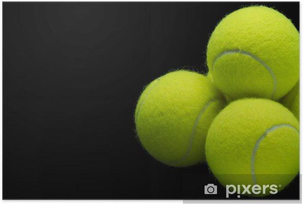 Plakát Tenisové míče - Tenis