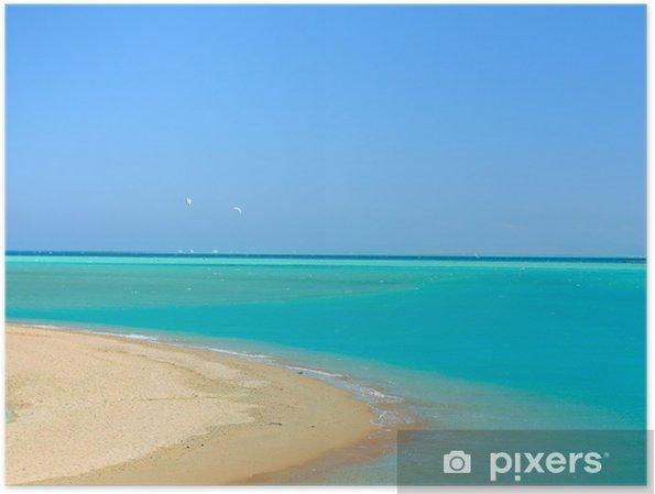 Plakát Teplý Sea Paradise - Ostrovy
