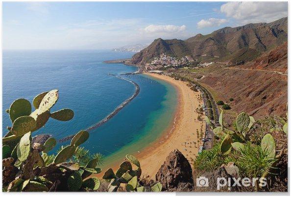 Plakát Teresitas Beach, Tenerife - Evropa