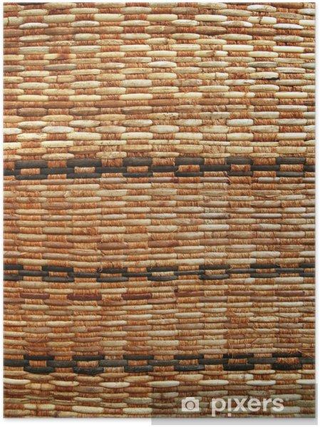 Plakát Textura ratanového vazba - Těžký průmysl