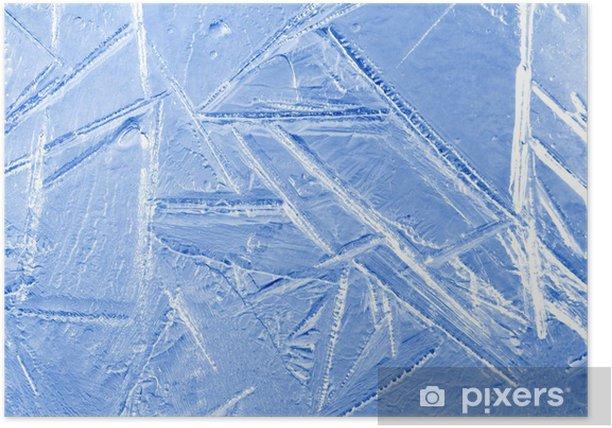 Plakat Texture frost - Tła