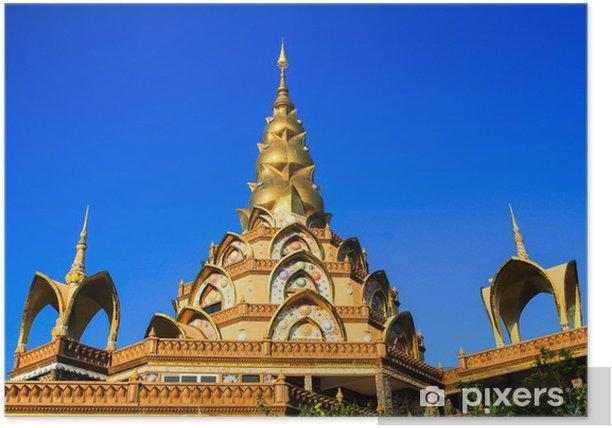 Plakát Thajsko chrám - Náboženství