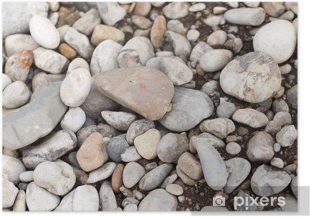 Plakat Tło z kamieni - Tła