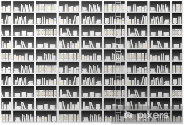 Plakat To - Biblioteczka