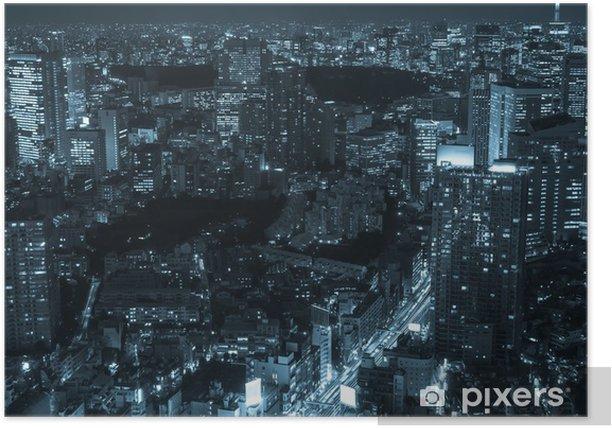 Plakat Tokio pejzaż - Azja