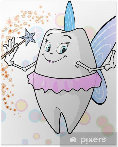 Plakát Tooth fairy_1 - Zdraví a medicína