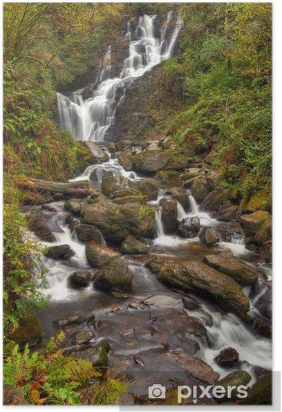 Plakát Torc vodopád v národním parku Killarney Co. Kerry, Irsko - Evropa
