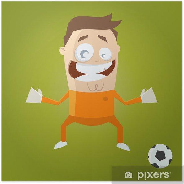 Plakát Torwart Fußball - Individuální sporty