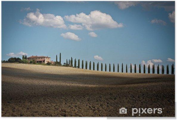 Plakát Toscana - Venkov