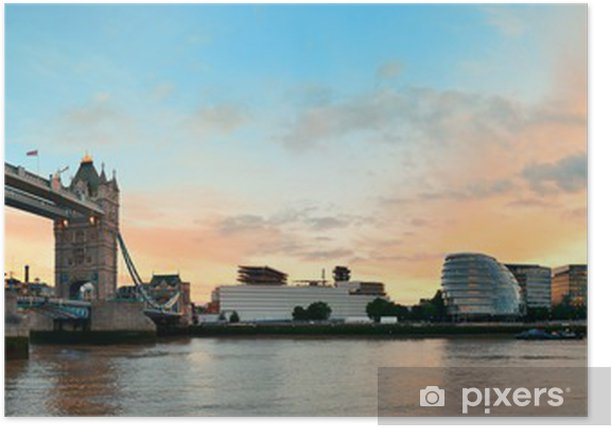 Plakat Tower Bridge, Londyn - Tematy