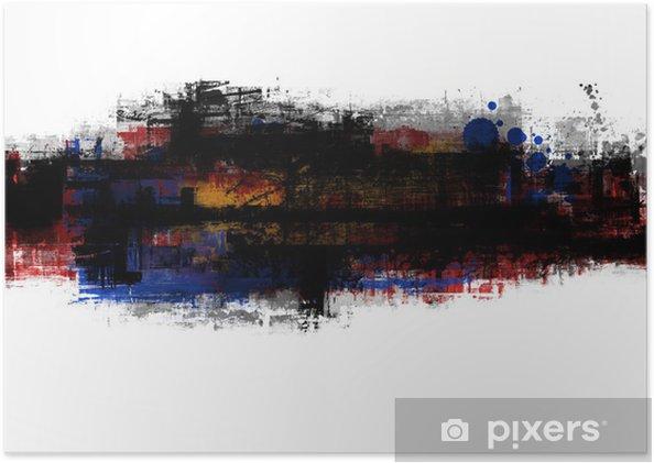Plakat Transparent - Sztuka i twórczość