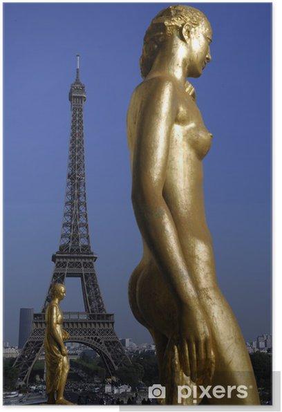 Plakat Trocadéro - Miasta europejskie