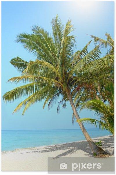Plakát Tropická pláž. Koh Chang - Voda