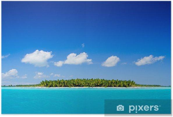 Plakát Tropické moře - Ostrovy