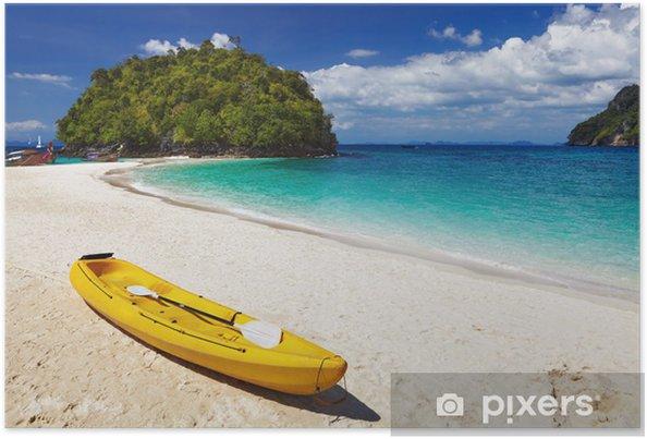 Plakát Tropické pláže, Thajsko - Voda