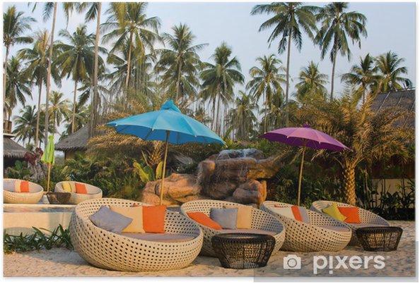 Plakát Tropické pláže v Thajsku - Asie