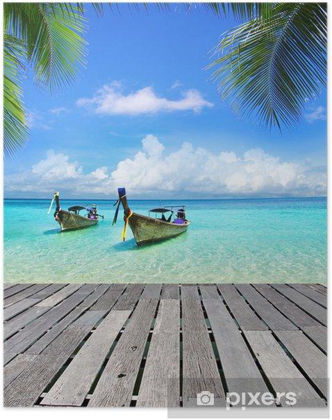 Plakat Tropikalnego morza - Tematy