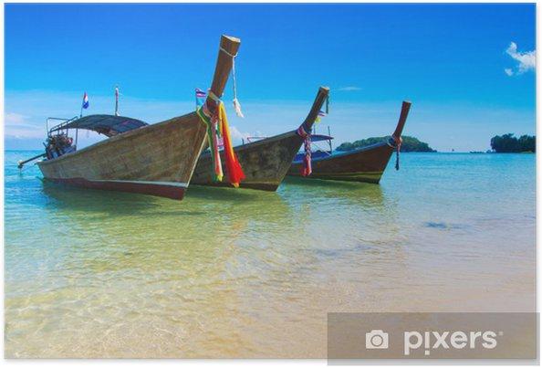 Plakat Tropikalnego morza - Pory roku