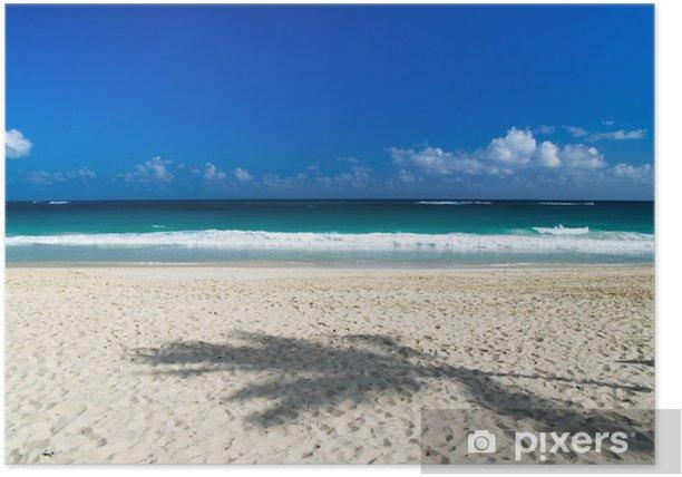 Plakat Tropikalnego morza - Niebo