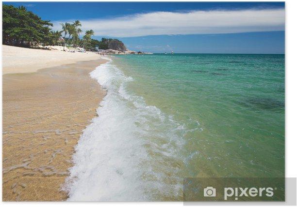 Plakat Tropikalnego morza - Woda