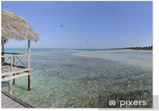 Plakat Tropikalny raj na plaży - Tematy