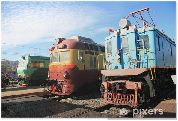 Plakat Trzy pociągi - Tematy