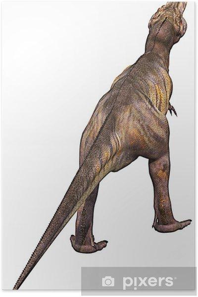 Plakát Tyrannosaurus zpět - Nálepka na stěny