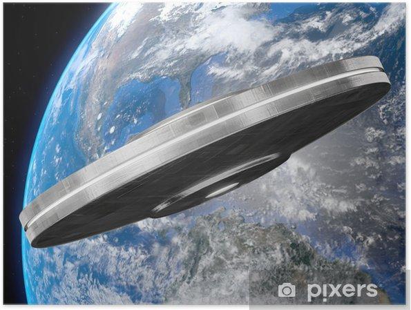 Plakat Ufo - Życie