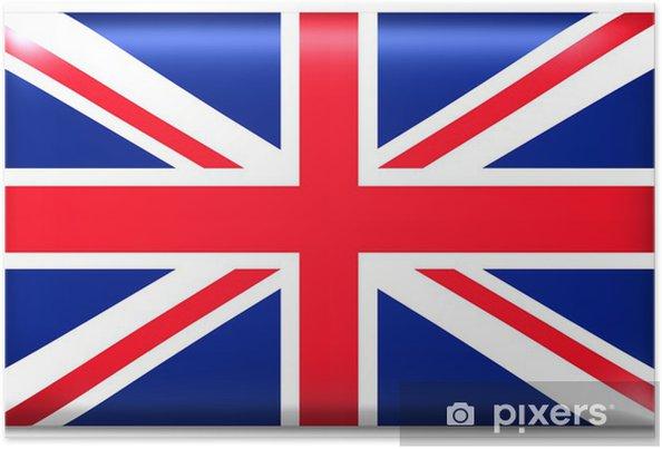 Plakát Uk fahne velká británie vlajka - Evropa