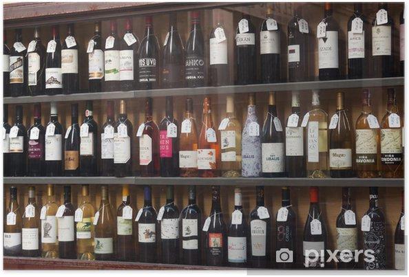 0e180efa162d Plakát Ukázky z prodejny alkoholu v Logrono. Španělsko • Pixers ...